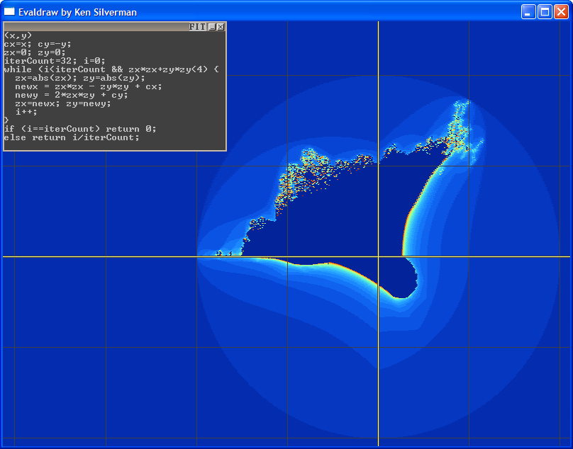 rendering mandelbrot and julia fractal
